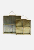 Sixth Floor - Trinket frame set of 2