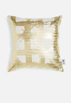 Sixth Floor - Foil pillow cover