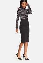 dailyfriday - Formal high waisted pencil skirt