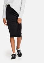 dailyfriday - Velvet pencil skirt