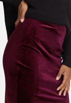 dailyfriday - Velvet pencil skirt