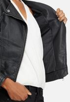 ONLY - Carly PU leather jacket