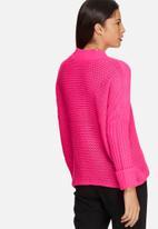 Noisy May - Vera funnel neck knit