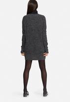 Noisy May - Twist deep V-neck oversized knit sweater