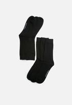 basicthread - Plain socks - 3 pack