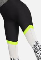 South Beach - Leopard neon mesh legging