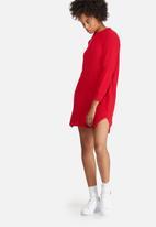 dailyfriday - Stitch detail knitwear dress
