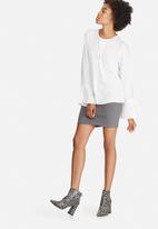 dailyfriday - Pleat front blouse