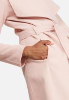 dailyfriday - Melton wrap coat