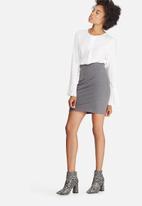 dailyfriday - Pull on mini skirt