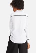 dailyfriday - Tipped pyjama shirt
