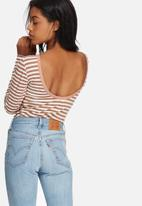 Pieces - Longhu deep back top
