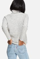 Pieces - Fran wool roll neck knit