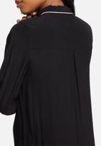 Pieces - Alba long shirt