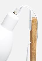 Sixth Floor - Emile desk lamp - white