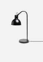 Sixth Floor - Lauren desk lamp - black