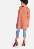 Missguided - Ribbed pocket sweat dress
