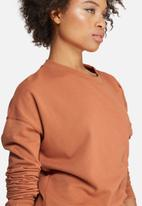 Missguided - Ruched detail sweat dress