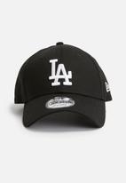 New Era - 9Forty LA dodgers - black & white