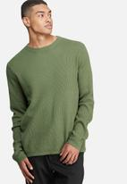 Bellfield - Mowbray rib pullover knit