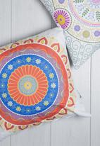 Sixth Floor - Mandala printed cushion