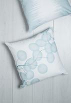 Sixth Floor - Blueberry printed cushion