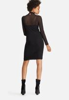 dailyfriday - Mesh bodycon dress