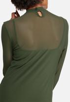 dailyfriday - Mesh bodycon dress