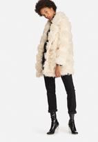 Glamorous - Faux-Fur Teddy Coat