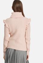 dailyfriday - Frill sleeve knit