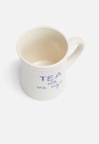Temerity Jones - Notebook tea mug