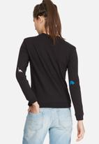 Daisy Street - Dino embroidered sweat top