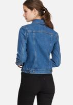 Levi's® - Zip front trucker jacket