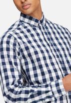 basicthread - Slim fit check shirt