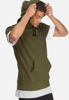 basicthread - Cap sleeve pullover hoodie