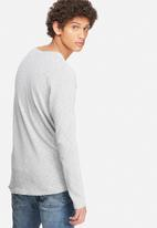Jack & Jones - Textured crew neck knit