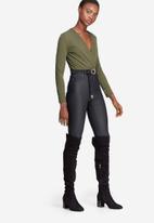 dailyfriday - Formal wrap bodysuit