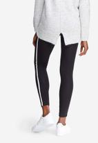 dailyfriday - Side stripe high waisted leggings