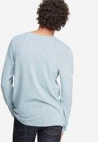 Jack & Jones - Textured crew neck knit