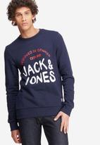 Jack & Jones - Sweep crew sweat