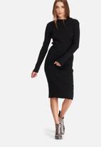 dailyfriday - Ribbed knitwear dress