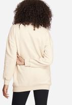 Missguided - Zip neck sweat top