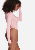 Missguided - High neck jumbo ribbed bodysuit