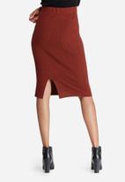 Vero Moda - Glory babette rib skirt