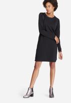 Vero Moda - Cool coating PU inset dress
