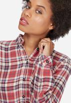 Vero Moda - Como check long shirt