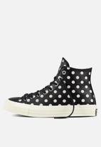 f3ac599a4b34 Chuck Taylor All Star Hi 70 s Embroidery-155459C-Black Parch Natural ...