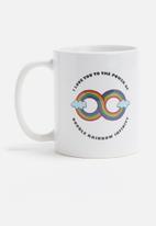 Sixth Floor - Double rainbow mug
