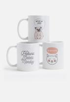 Sixth Floor - Hakuna matata Monday mug