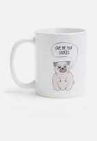 Sixth Floor - Hungry pug mug